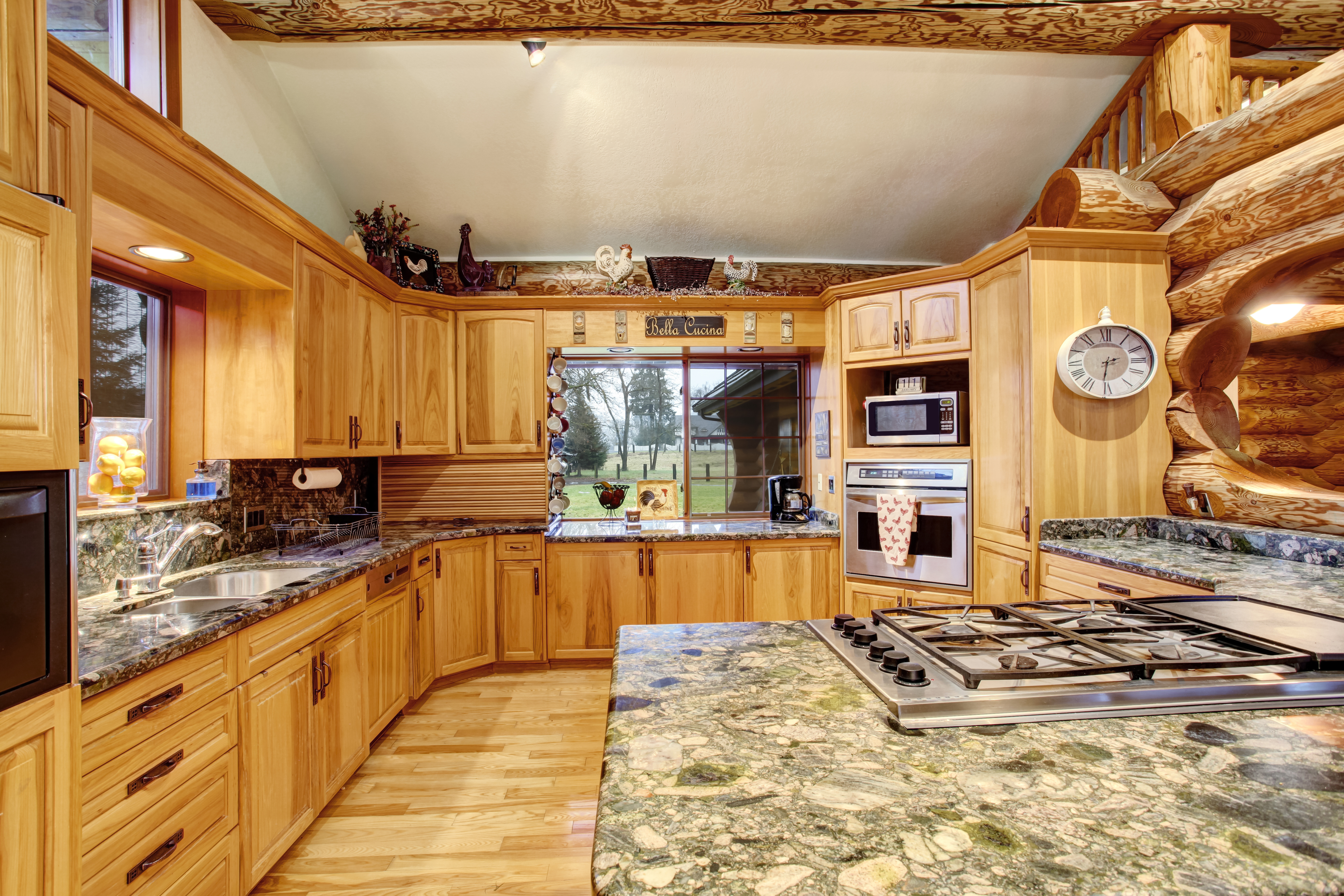 5 Ideas To Top Off Your Log Cabin Home Kitchen Ohio Log Home